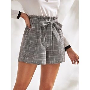 Plaid Shorts - NWOT!